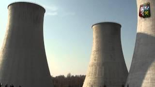 Wyburzenie chłodni w Elektrowni Turów