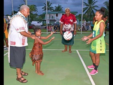 Fijian Prime Minister opened the new Davuilevu Multi-Purpose Sports Facility.