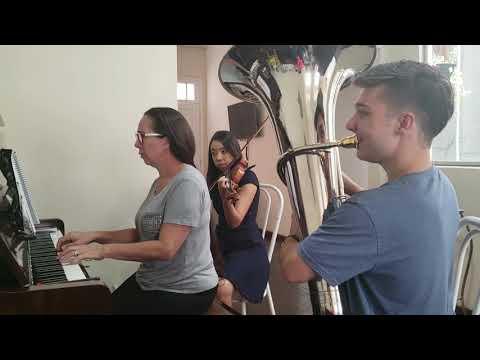 Hino 3 CCB - Piano Violino e Tuba