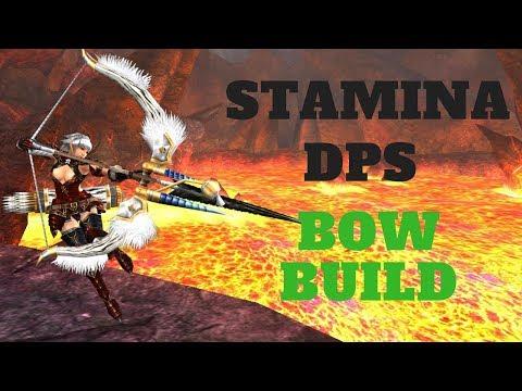 Monster Hunter World - Stamina, DPS Bow Build