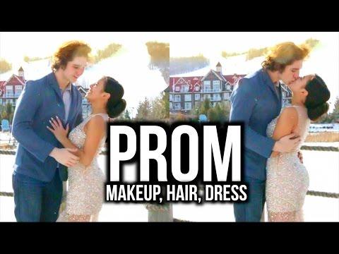 prom-2016:-makeup,-hair-&-dress-♡