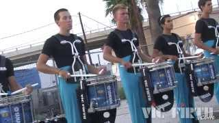 "Carolina Crown ""In the Lot"" : DCI 2014 San Antonio - HD Footage!"
