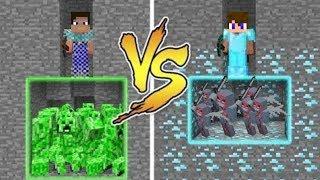 Noob vs PRO v Minecraftu! - NEVYBER...