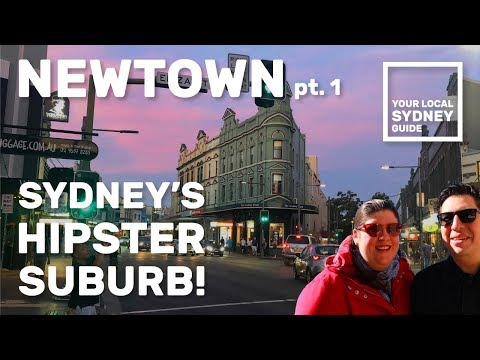 NEWTOWN, SYDNEY'S HIPSTER SUBURB! (Your Local Sydney Guide)