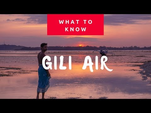 Everything to know about visiting Gili Air