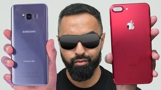 Samsung Galaxy S8 Plus vs iPhone 7 Plus