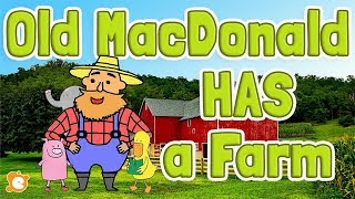 Old MacDonald HAS a Farm - With Lyrics and Karaoke Track by ELF Learning