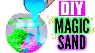 DIY Aqua Magic Sand! Cool Sand That Never Gets Wet!