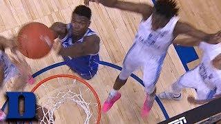 Zion Williamson Powers For Go-Ahead Basket vs. UNC