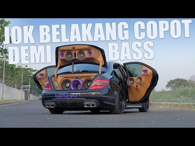 Modif Mercedes Benz C-Class W204 : Mobil Berprestasi Karya MJM Car Audio Bekasi