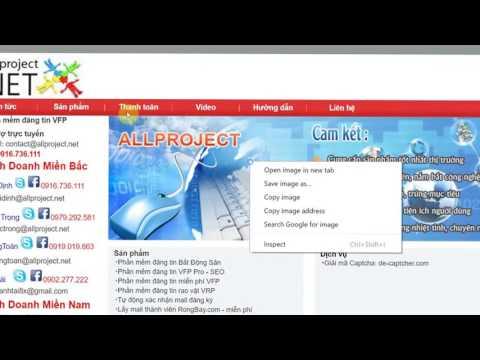 Hướng dẫn đăng tin lên các diễn đàn trên VFP Pro