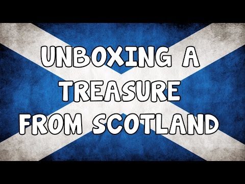 UNBOXING│TREASURE│FROM SCOTLAND