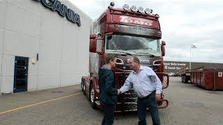 Levering af Scania R 730 til Tomo Transport