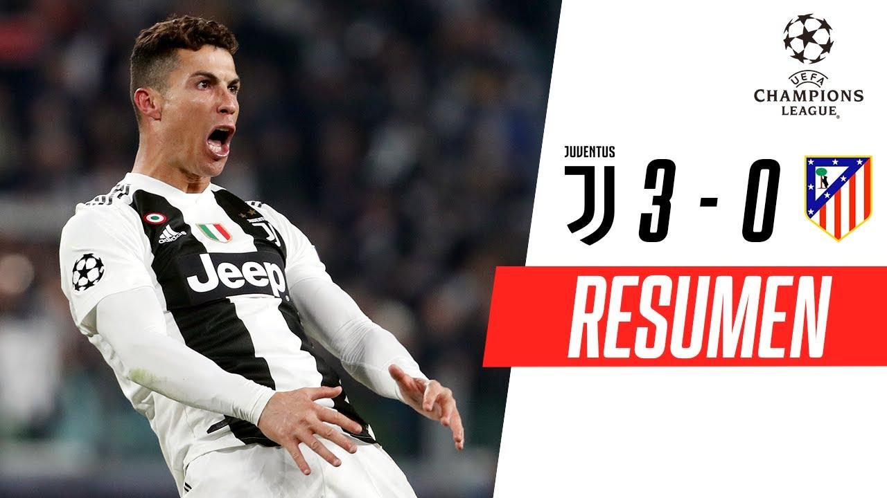 Juventus - Atlético de Madrid [3-0] | GOLES | Octavos de final (VUELTA) | UEFA Champions League