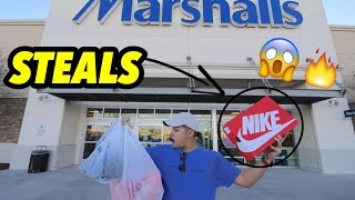 SO MANY STEALS AT MARSHALLS!