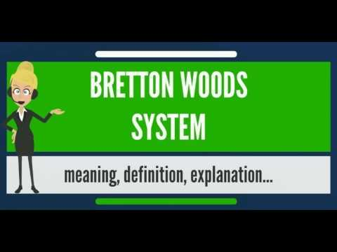 What is BRETTON WOODS SYSTEM? What does BRETTON WOODS SYSTEM mean? BRETTON WOODS SYSTEM meaning