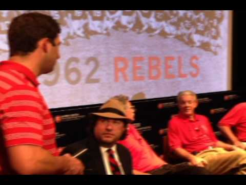 Ole Miss Applauds 1962 Undefeated Rebels