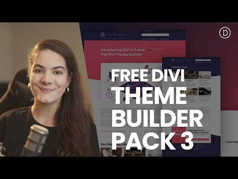 Download The Third FREE Theme Builder Pack For Divi