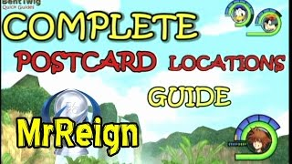 Kingdom Hearts 1.5 HD - Final Mix - All Postcard Locations