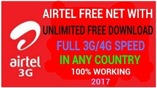 [ New Update ] Airtel Free Net With Unlimited Free Download For All Airtel Users
