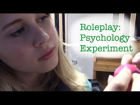 FIXED- Roleplay: ASMR Psychology Experiment