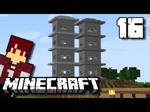 bikin rumah 2 lantai diatas gunung! minecraft survival