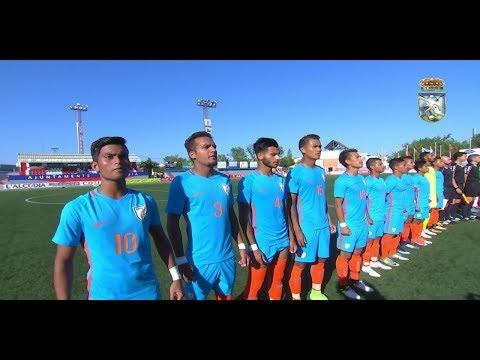 INDIA U20 VS MURCIA U20 - FULL MATCH HIGHLIGHTS - 1080P - COTIF CUP 2018