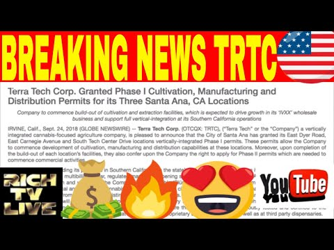 Stocks to buy: Terra Tech Corp (OTCQX: TRTC) My 100% Prediction