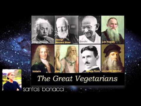 Santos Bonacci - Vegetarian, Raw Food & Eating Meat