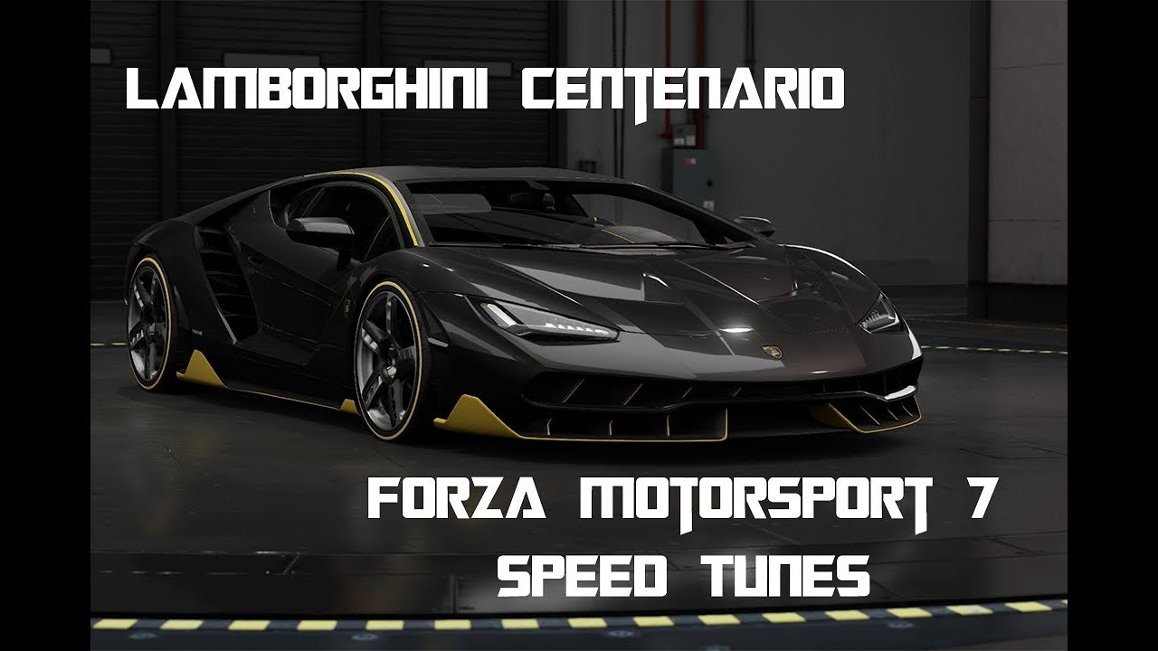 Forza Motorsport 7 Lamborghini Centenario Speed Tune Take 6