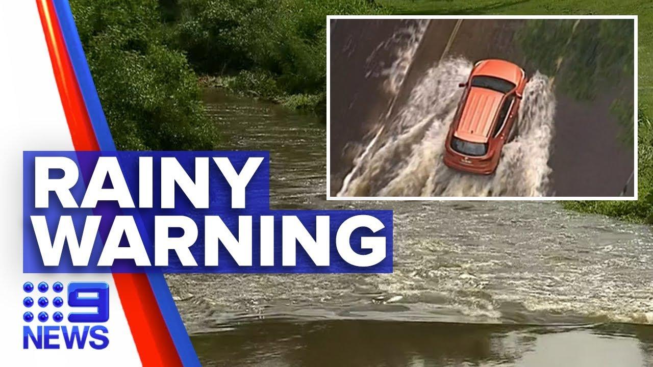 Flood watch for Queenslanders   Nine News Australia Смотри на OKTV.uz