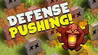 "Clash of Clans: ""SO MANY WINS!"" DEFENSE ONLY... HOW FAR CAN IT GO?"