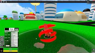 Roblox Let's Play: Dragon Ball Ultimate Warriors (Beta) showing all from so far