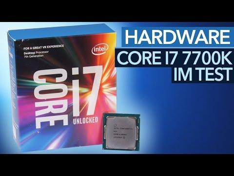 Intel Core i7 7700K im Test - Die schnellste Spiele-CPU