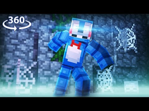 360° Five Nights At Freddy's - TOY BONNIE VISION - Minecraft 360° Video