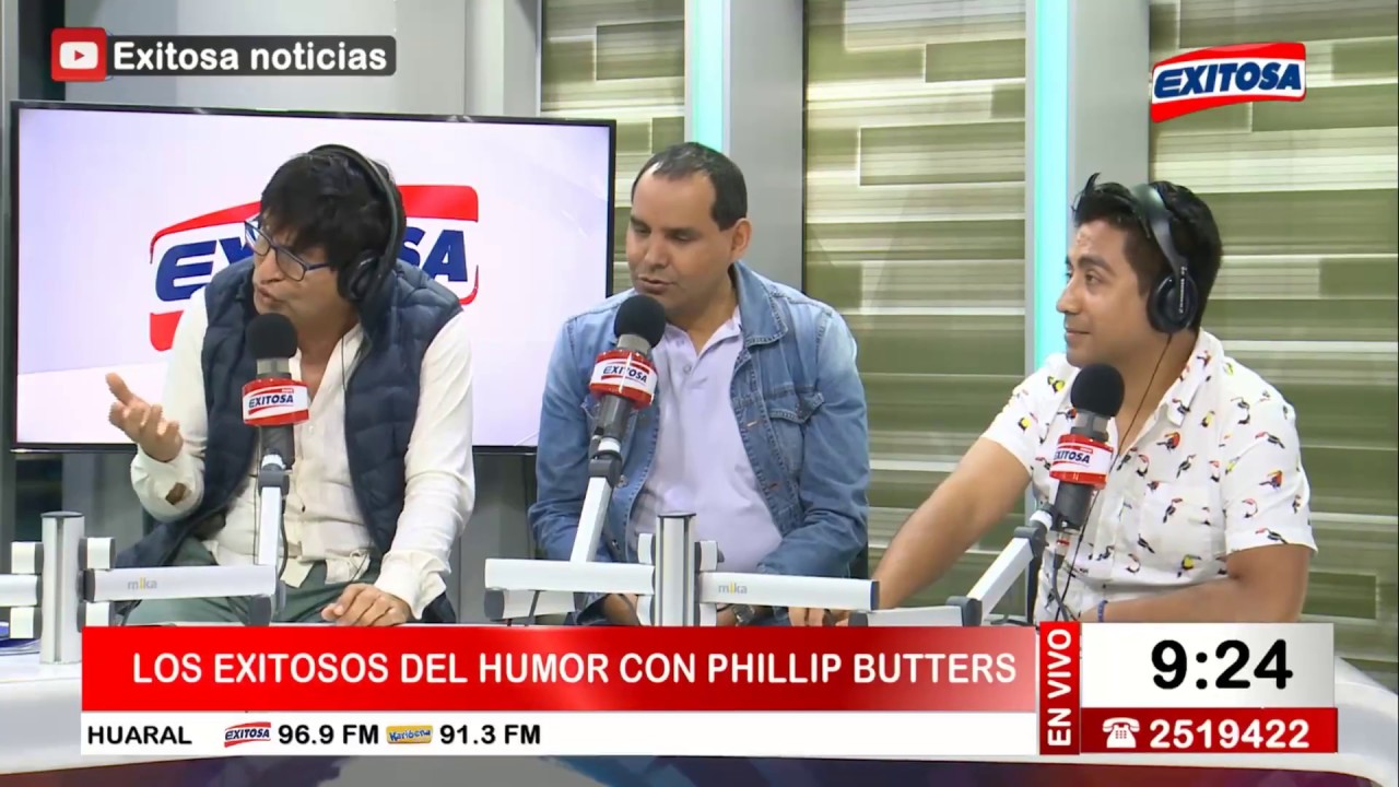 ¡PARA NO DEJAR DE REÍR! |  Phillip Butters y los exitosos del Humor en exitosa