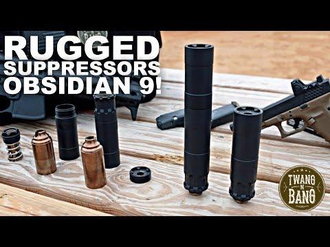 Rugged Suppressors Obsidian 9! Modular 9mm Silencer