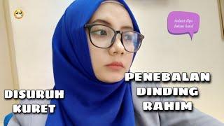 MASUK IGD gara-gara Hyperplasia Endometrium.