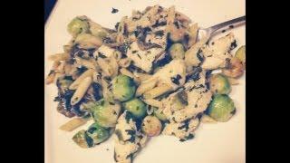 Garlic Chicken Pasta Recipe Tutorial - Gourmet From Your Own Kitchen