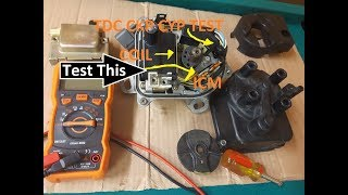 How to test Honda ignition distributor TDC CYP CKP ICM CEL P1381, P1831, P1832, P1362CEL hesitation