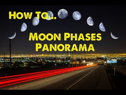 How to make a Moon Phases Panorama