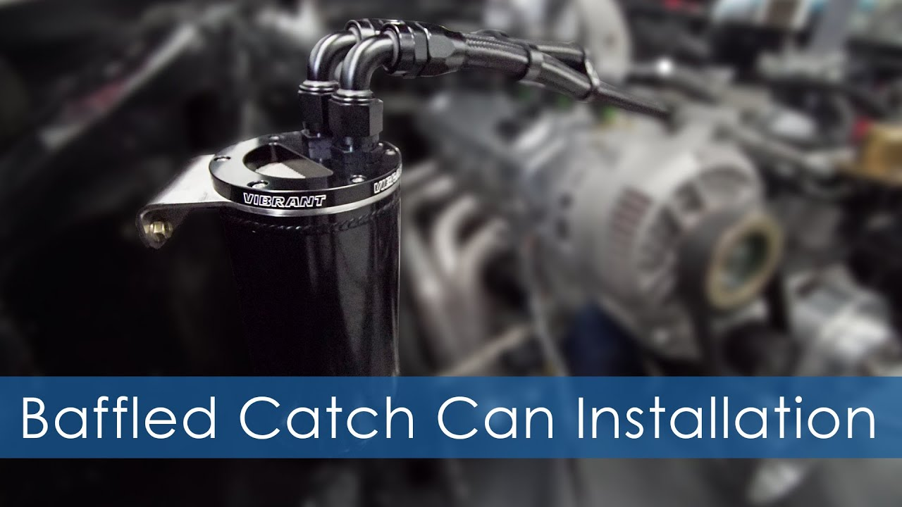 how to install oil catch can