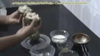 Alavi Bohras: at-Taiyebaat- Custard Apple Juice with Puri