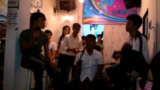 Để Em Rời Xa và Bay ( guitar Tony Việt, singer Nhật Qúy, Drum Quang Trí)