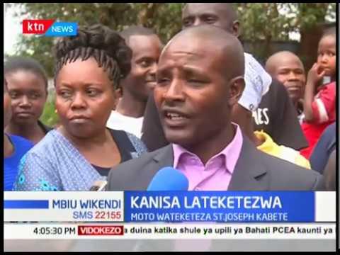 Washukiwa 5 wakamatwa mjini Nairobi, mwanafunzi wa Bahati PCEA afariki    Mbiu Wikendi
