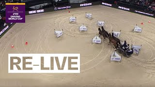 RE-LIVE | Competition 1 | Stuttgart (GER) | FEI Driving World Cup™