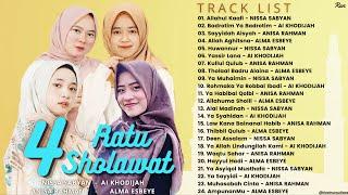 Full Album Terbaru 4 RATU SHOLAWAT - NISSA SABYAN || AI KHODIJAH || ANISA RAHMAN || ALMA ESBEYE