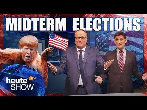 Midterm Elections: Moderner Wahlkampf braucht einen Feind | heute-show vom 09.11.2018