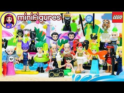 Disney Princess Dress Up in Full Set of Batman Minifigures Series 2