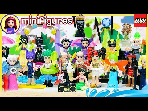 Disney Princess Dress Up In Full Set Of Batman Minifigures Series 2